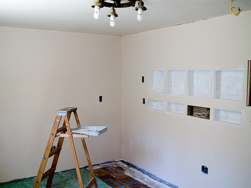 prime and size your walls for wallpaper