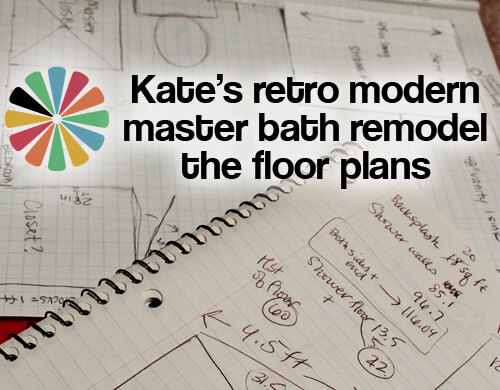 master bath floor plan sketches