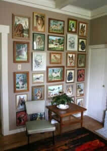 paint by number paintings vintage