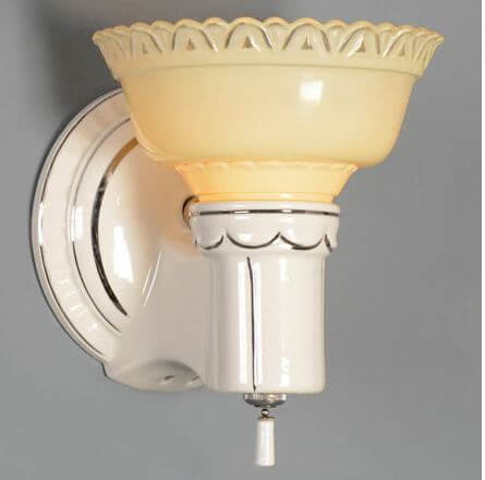 17 reproduction porcelain lighting fixtures for sale today... and 11 ...
