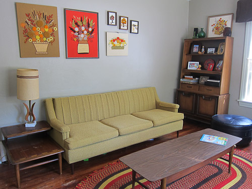 vintage couch by flexsteel