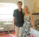 """Lauryn and Dennis' 1939 """"humble kitchen"""" makeover — 20 photos"""