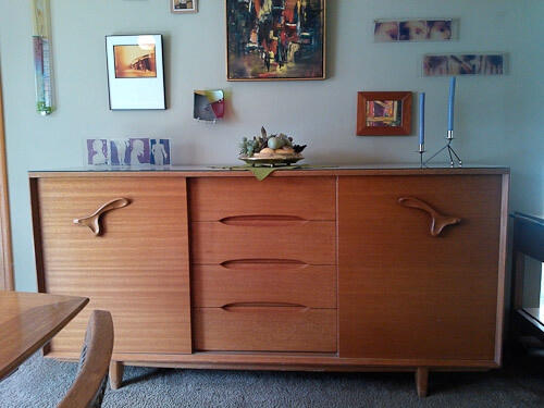 brown saltman sideboard
