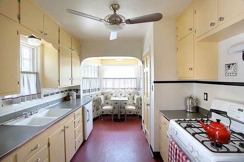 "lauryn and dennis' 1939 ""humble kitchen"" makeover - 20 photos"