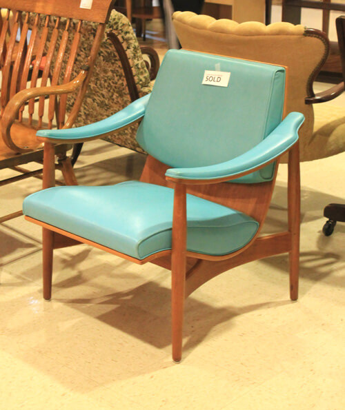 turquoise Thonet Chair