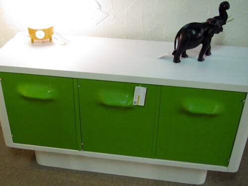 broyhill plastic furniture lime green