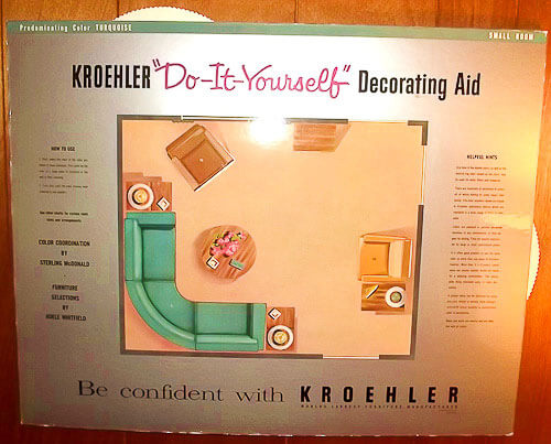 vintage kroehler room planner