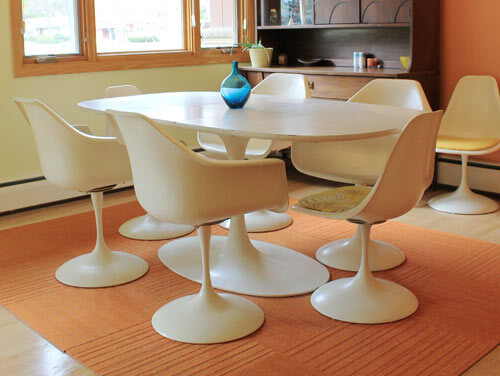 vintage furniture manufacturers. Saarinen Tulip Tables And Chairs \u2014 Or Vintage Knock-offs Made By Burke, Fiberform Other Manufacturers Furniture