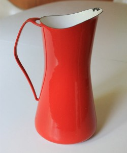 Dansk Kobenstyle red pitcher