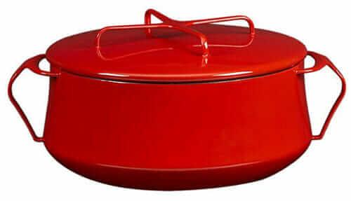 Kobenstyle Casserole dish red