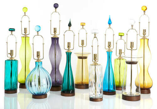 Breaking News: Blenko Glass lamps from 1947-1963 to be ...