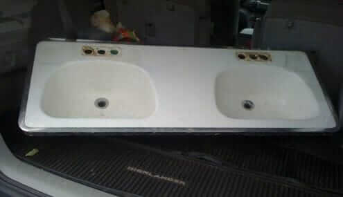double bowl bathroom sink cast iron sink bowl bathroom sink with 18174