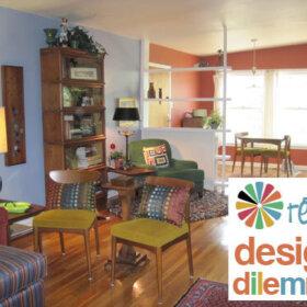 retro design dilemma wall color