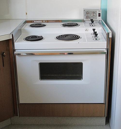 1960s-Westinghouse-2-level retro stove
