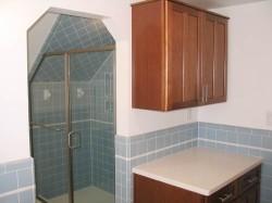 Blue-retro-bathroom-shower