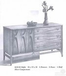 Broyhill Brasilia and Sculptra — pictures from a vintage furniture catalog