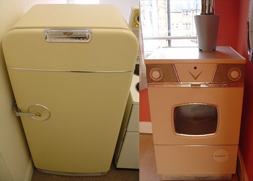 Restored-Fridge-and drier retro