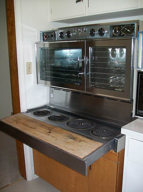 Double Wall Oven With Microwave American Beauties: 25 vintage stoves and refrigerators ...