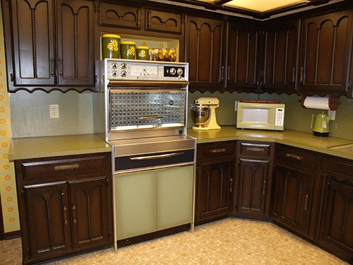 Were stainless steel appliances use in   Retro Renovation