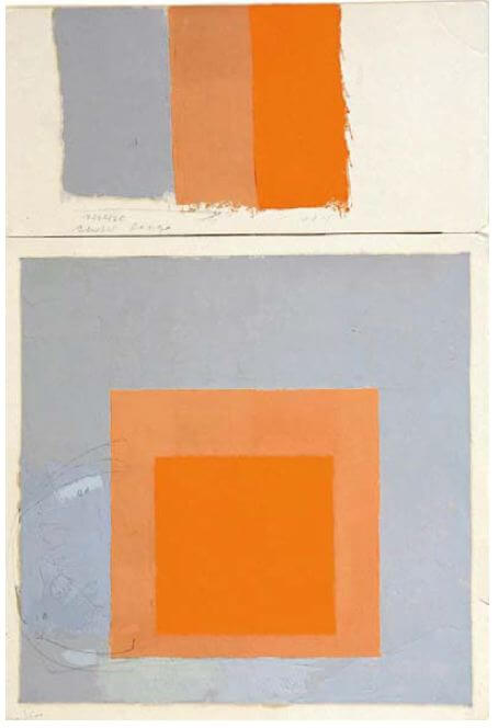 josef albers study for homage to the square