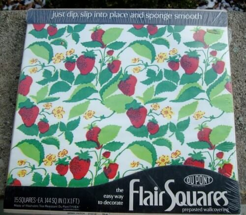 flair squares strawberry patch