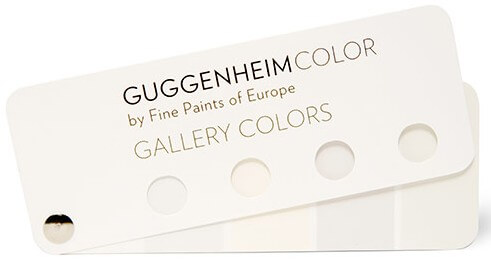 Gallery colors by Guggenheim