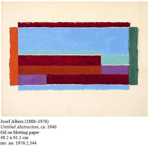 josef albers painting