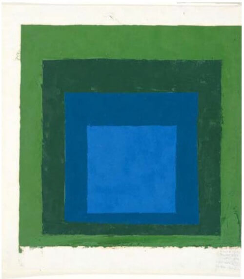albers study for homage to the square