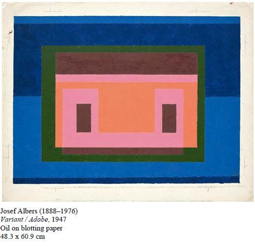 josef albers mexico paintings
