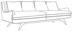 lewis sofa Younger Furniture