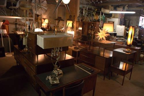 mid century desks