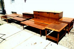 mid century lane coffee tables