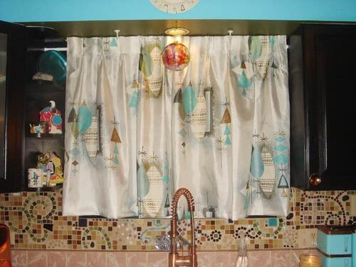 retro kitchen curtains retro kitchen curtains