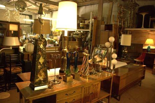 retro lamps vintage