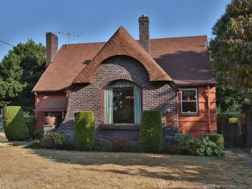 tudor house romantic revival style
