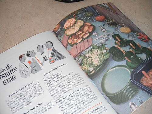 retro stag-night-recipes