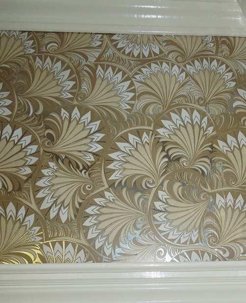 vintage-foil-fan-wallpaper
