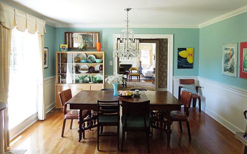 vintage-modern-dining-room