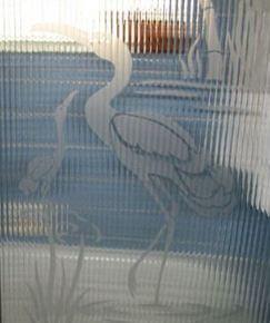 shower doors with cranes