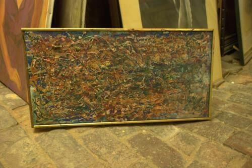 vintage pollock painting