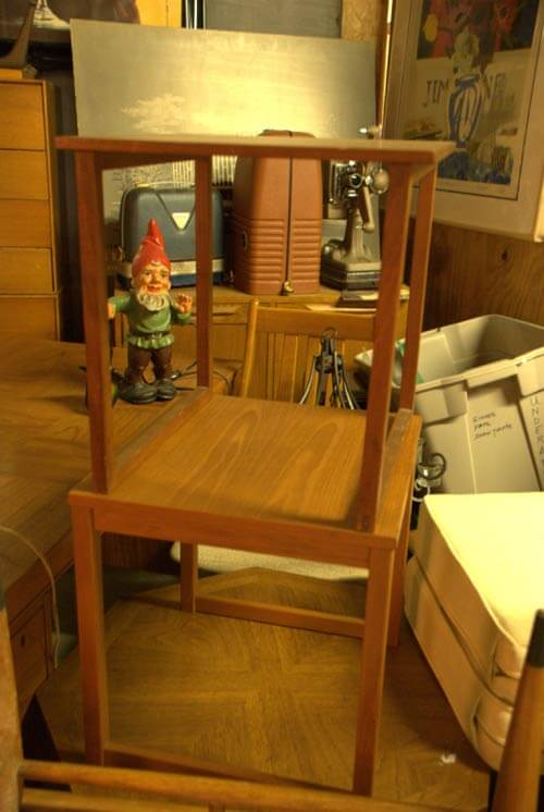 vintage yard gnome