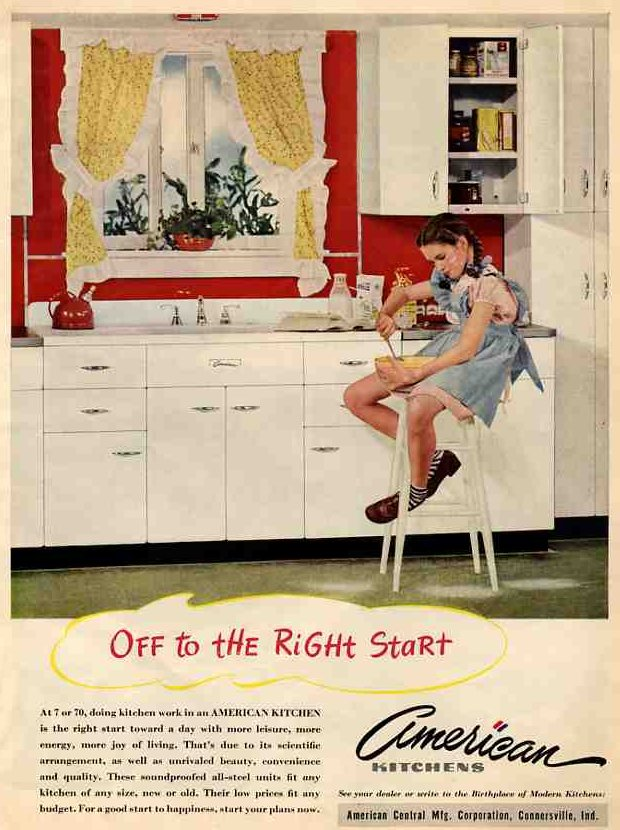 Red Kitchen 1945