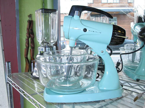Aqua-retro-sunbeam-mixer