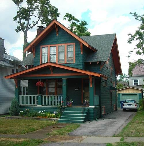Bungalow-house