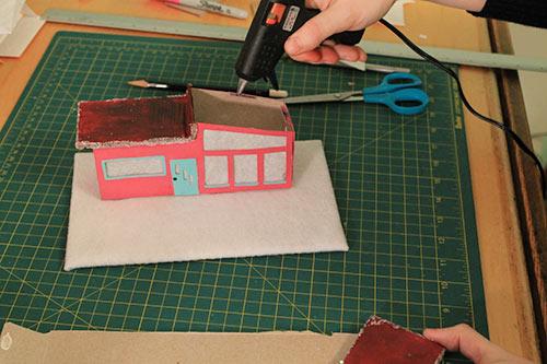 Glue-on-roof