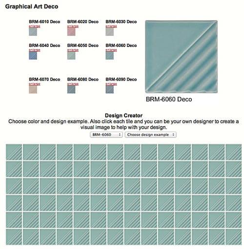 Graphical-art-deco-tile-American-universal