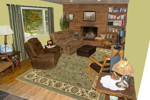 Living-room-green