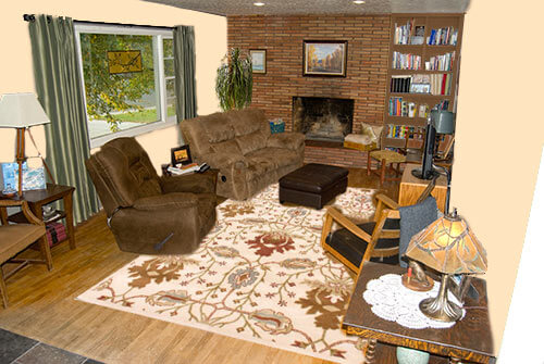 Living-room-warm-creamy-walls