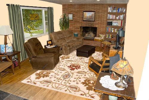 Living-room-warm-creamy-walls
