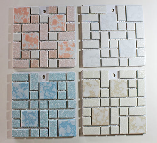 Bathroom Floor Tile In Production Since The 1970s 6 Colors And Y